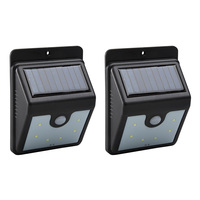 Total Value Products Forever LED Solar Motion-Sensor Lights - 2-Pack