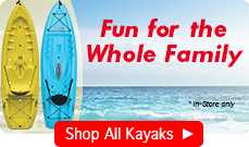 kayaks for the whole family